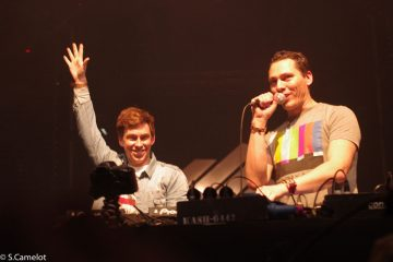 Tiësto & Hardwell live at Energy 2011