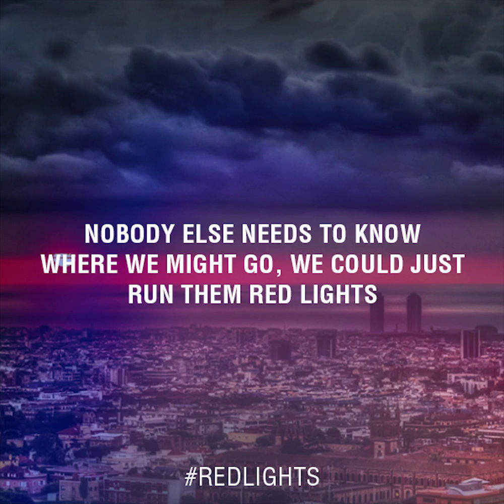 Tiesto - Red Lights Lyrics
