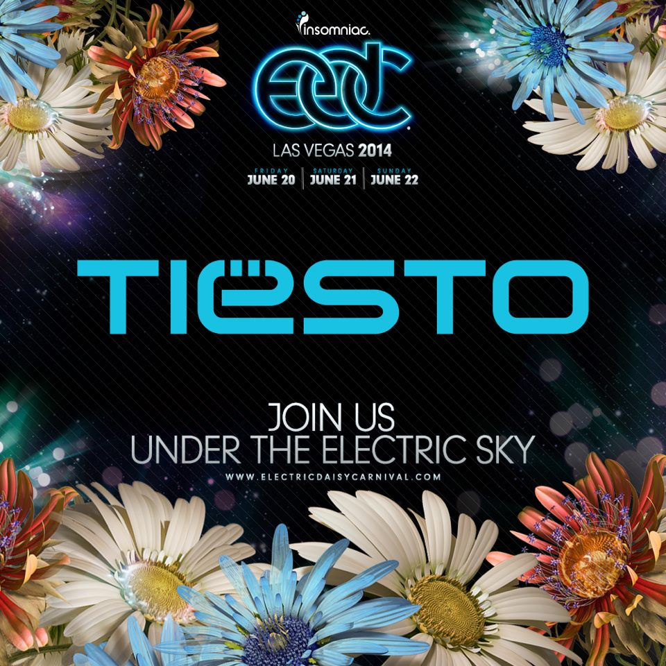 Tiësto at Electric Daisy Carnival (EDC) Las Vegas 2014