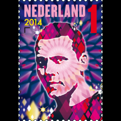 Tiësto on Postage Stamp