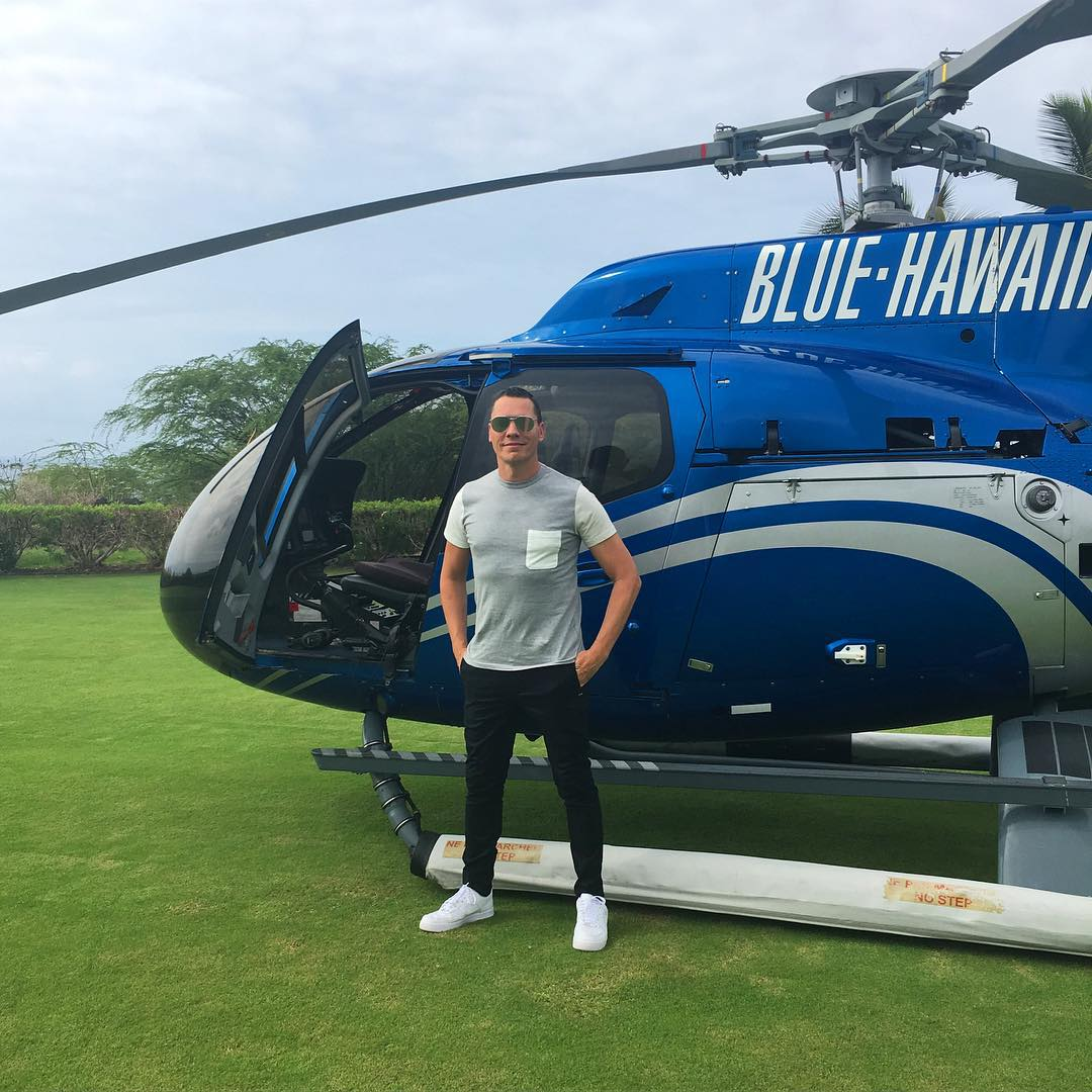 Tiësto on the way to Honolulu