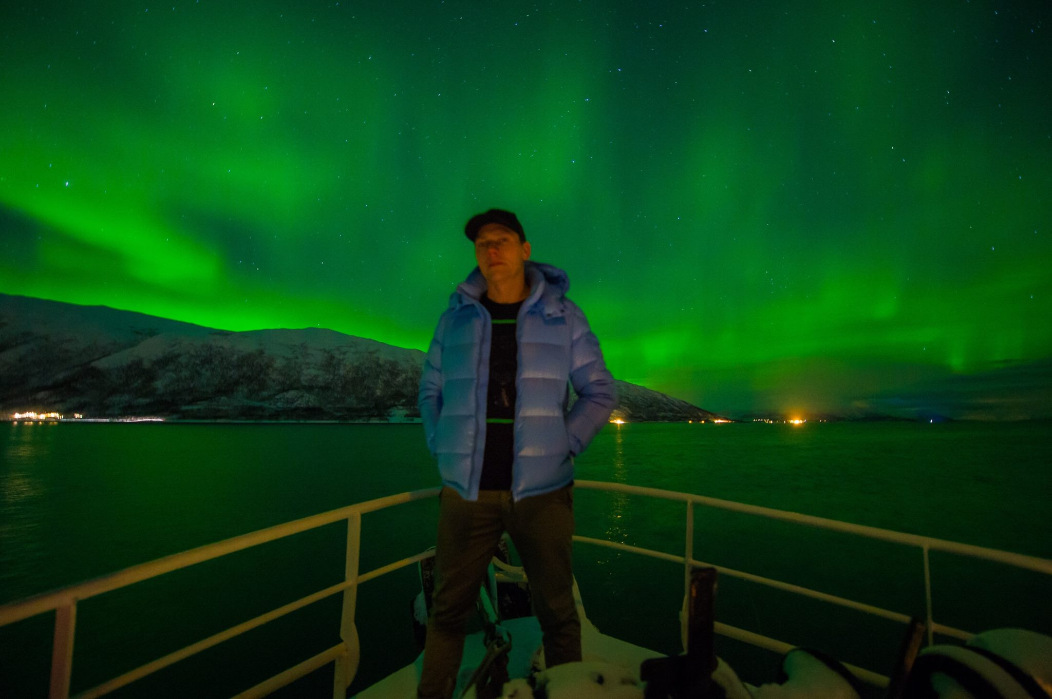 Northern lights shows