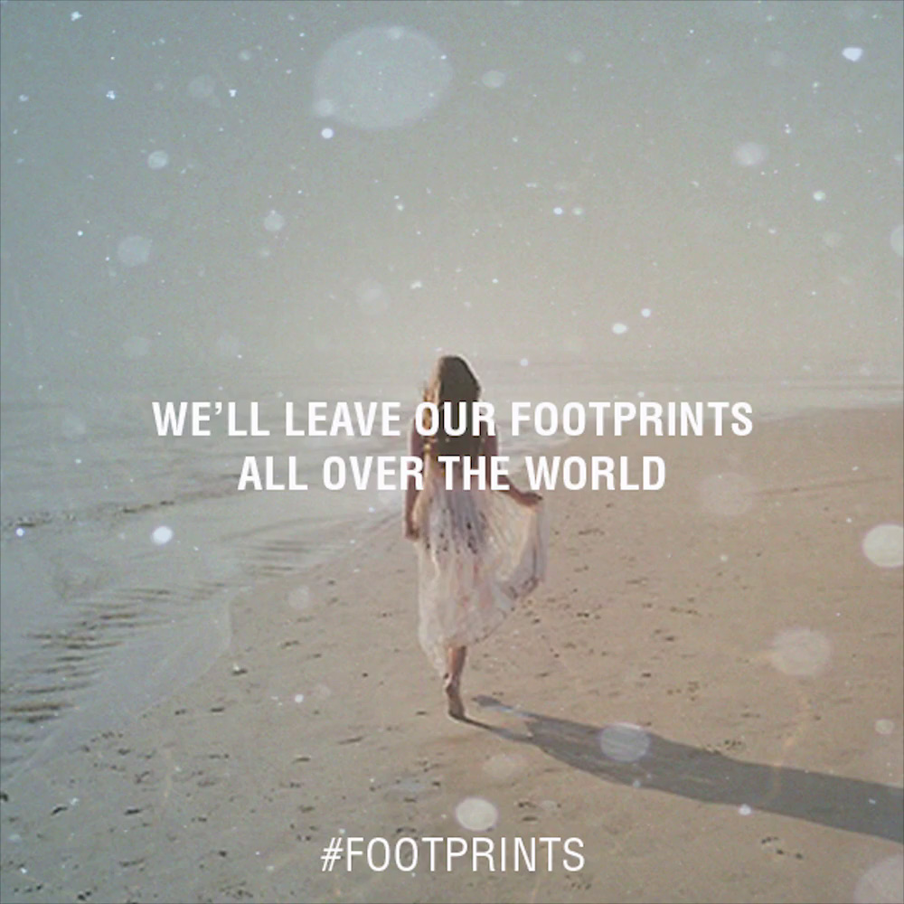 Tiësto - Footprints Lyrics (feat. Cruickshank)