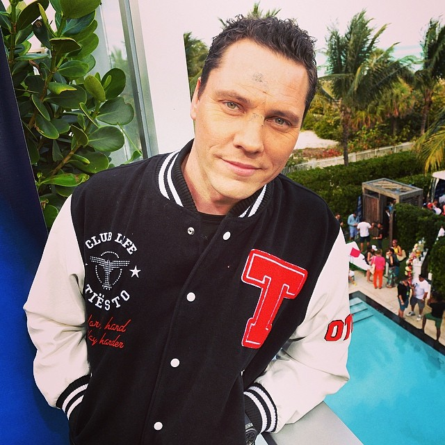Tiesto at the Sirius XM Music Lounge 2014