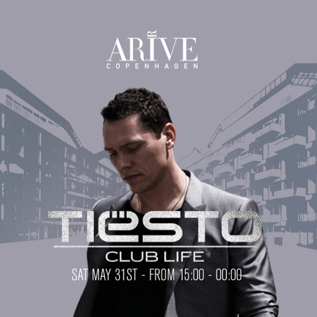 Tiësto at Stay Copenhagen, Copenhagen, Denmark on 31 May 2014.