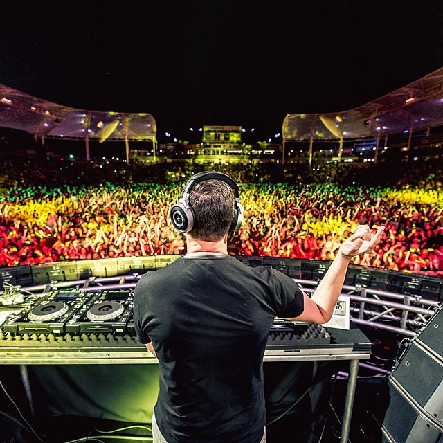 Tiesto live in Los Angeles at #WangoTango