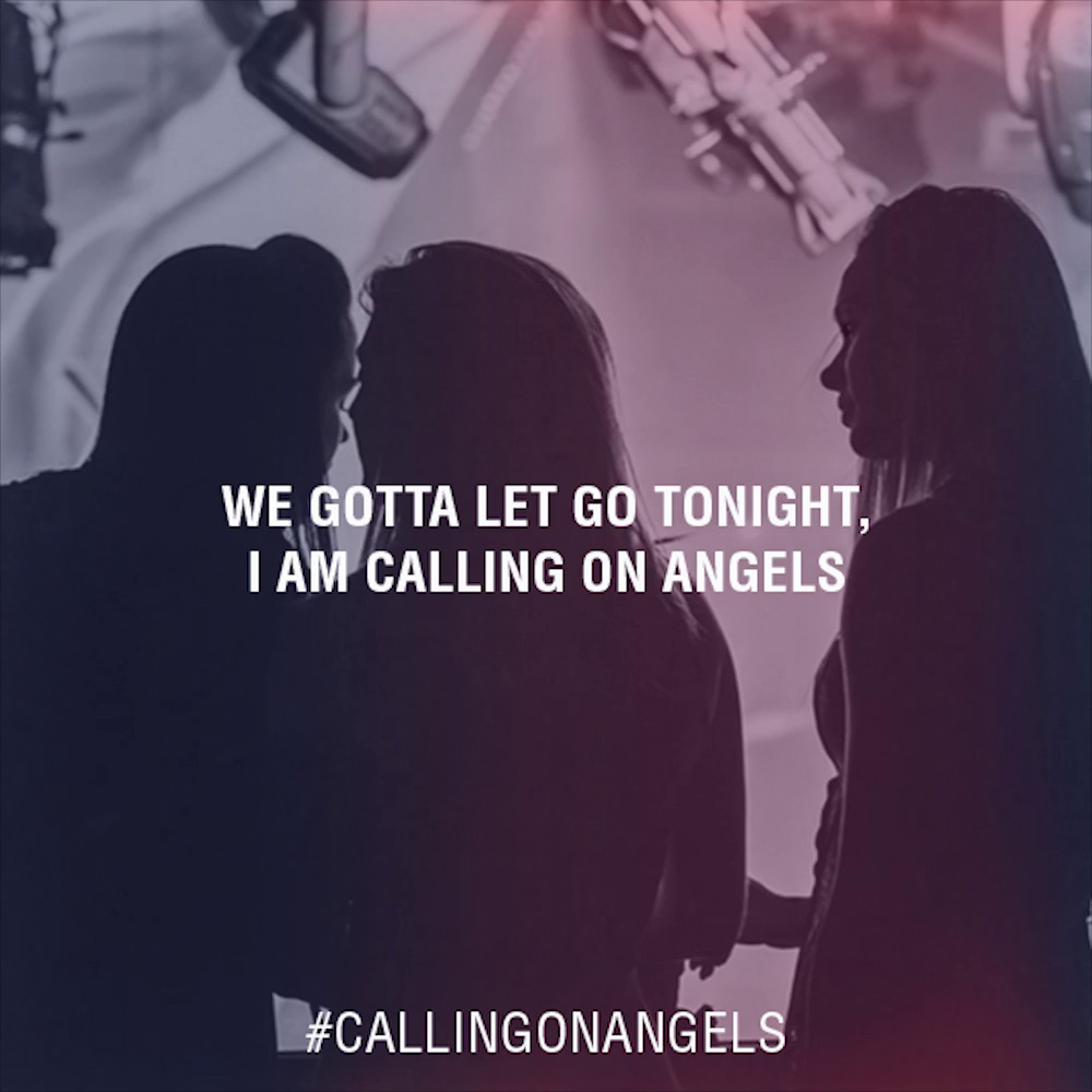 Tiësto & Fred Falke – Calling On Angels (feat. Elan Lea) Lyrics