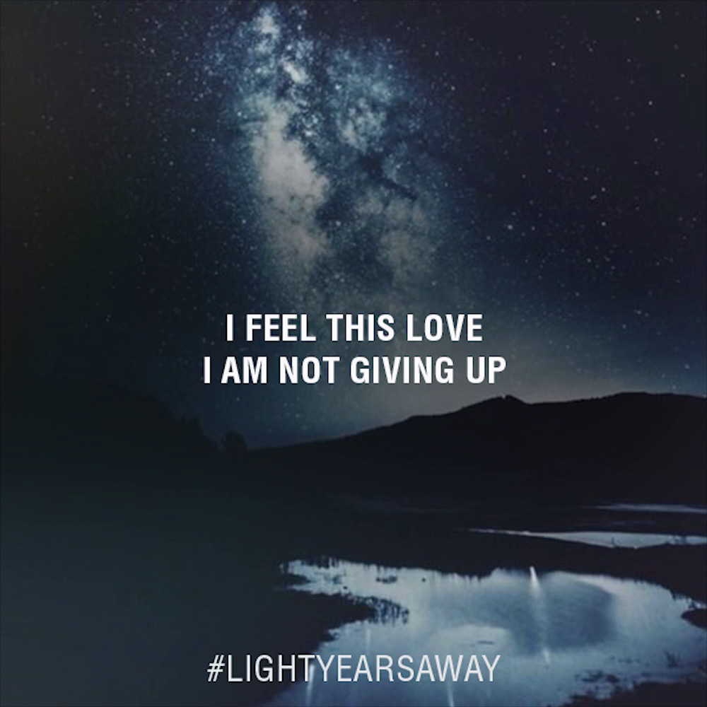 Tiësto - Light Years Away Lyrics (feat. DBX)