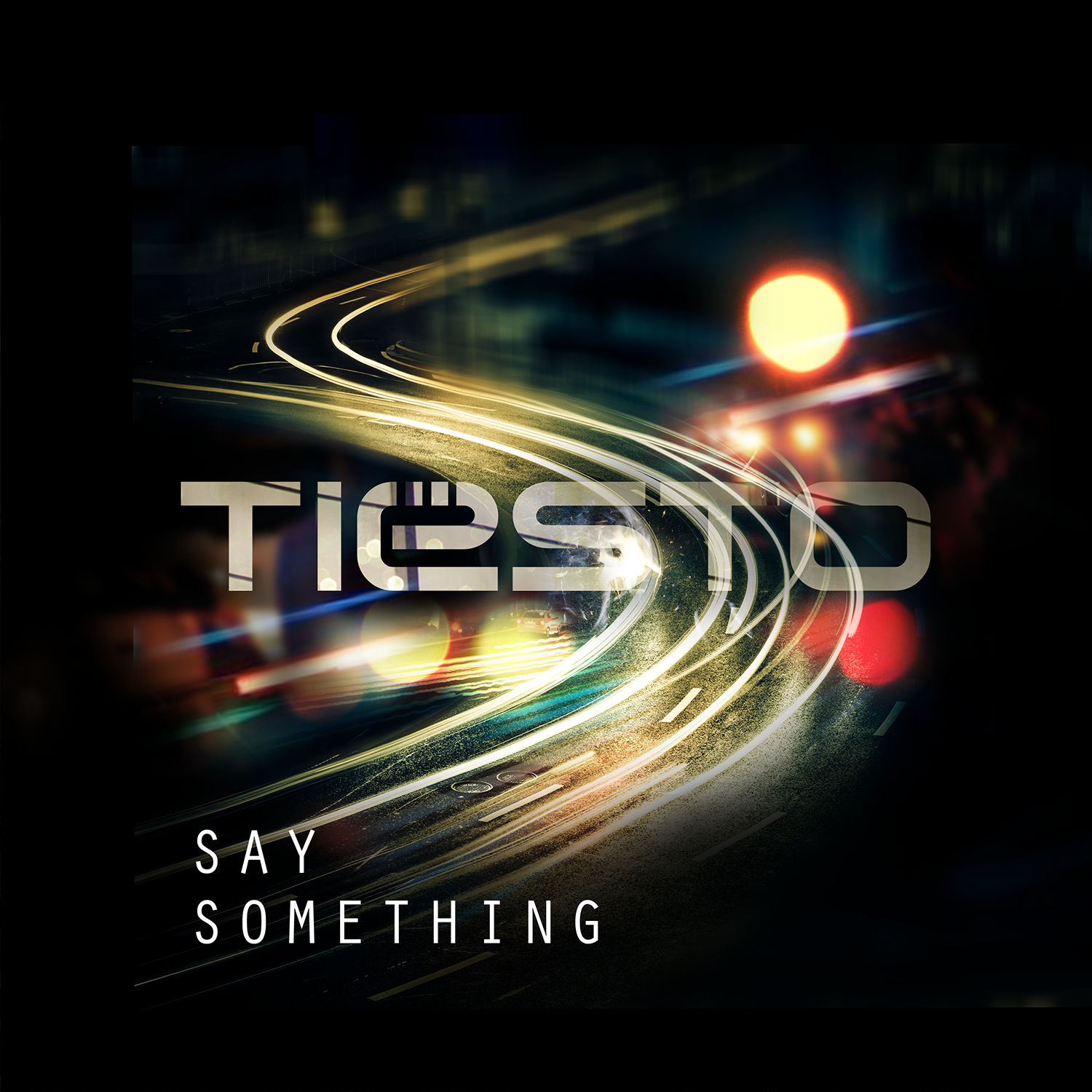 Tiësto - Say Something (feat. Emily Rowed) Artwork