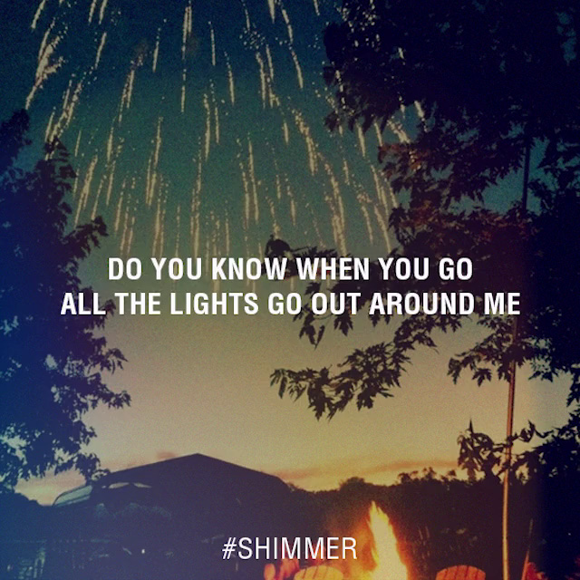 Tiesto - Shimmer Lyrics (feat. Christian Burns)