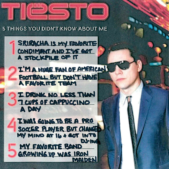 5 Things You Didn't Know About Tiësto