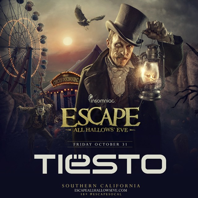 Escape: All Hallows' Eve with Tiësto