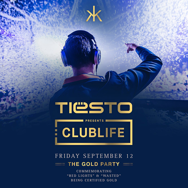 Tiësto - The Gold Party