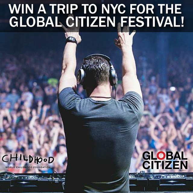Win A Trip to NYC for the Global Citizen Festival!